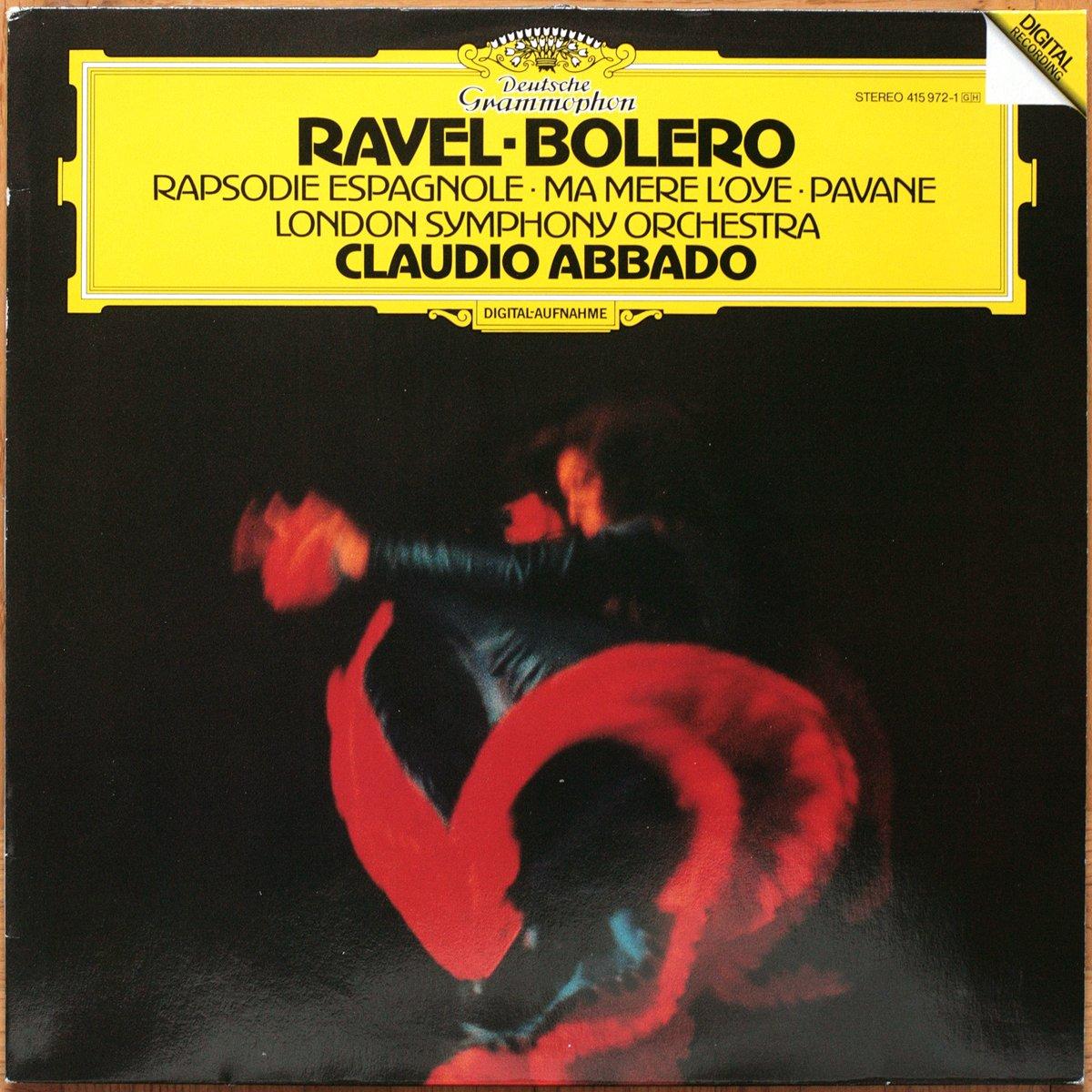 DGG 415 972 Ravel Bolero Rapsodie Abbado