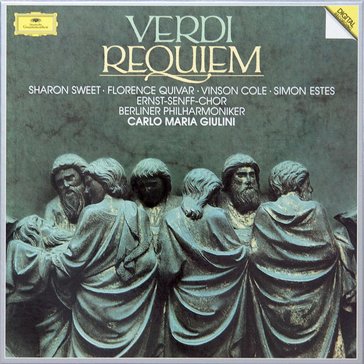 DGG 423 674 Verdi Requiem Giulini DGG Digital Aufnahme