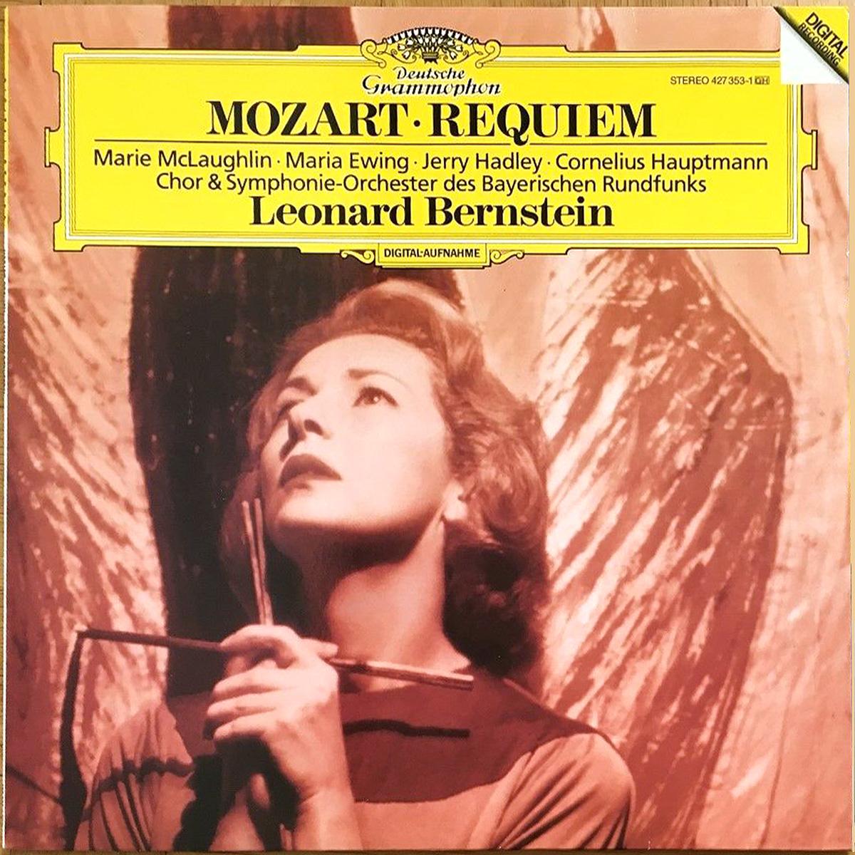 DGG 427 353 Mozart Requiem Bernstein DGG Digital Aufnahme