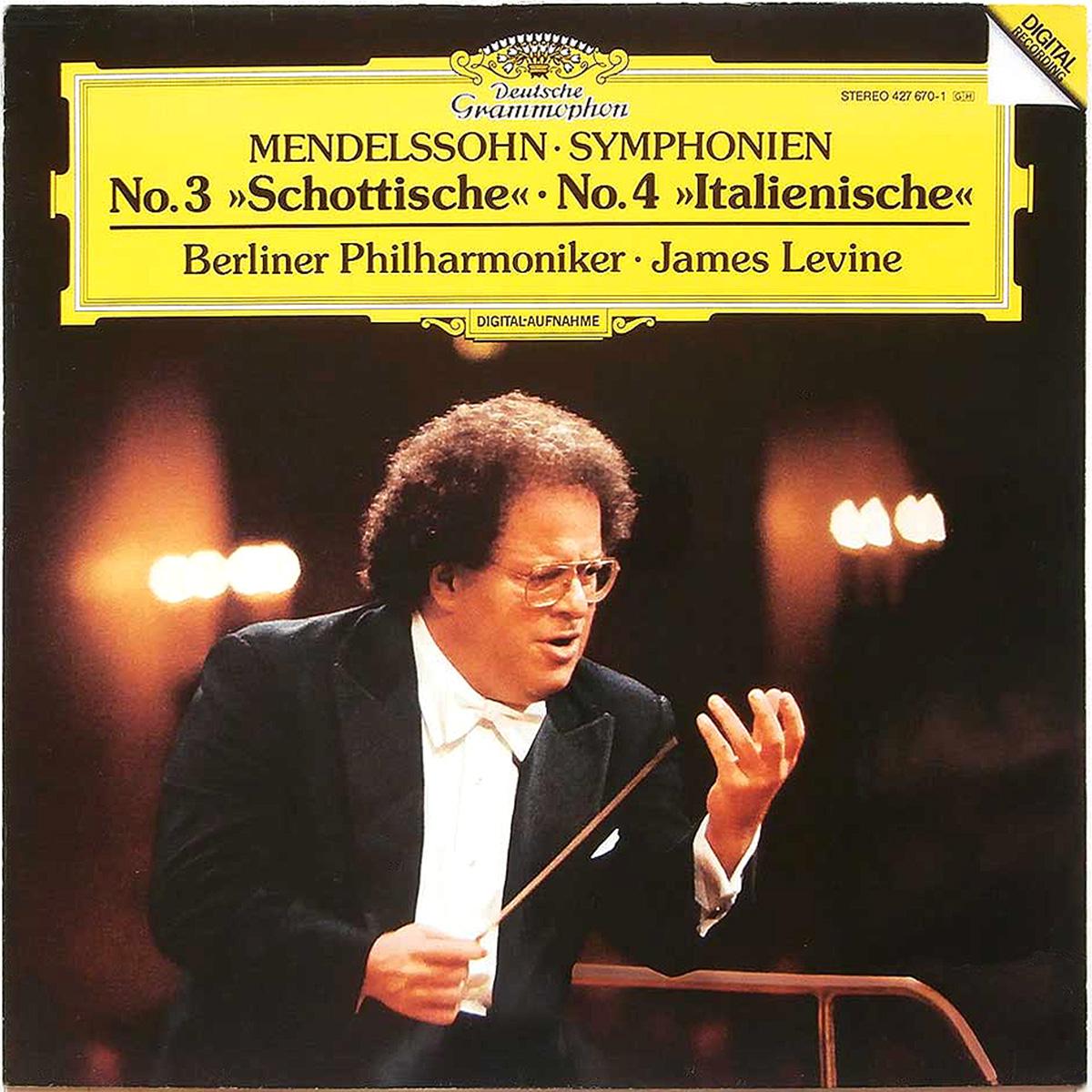DGG 427 670 Mendelssohn Symphonies 3