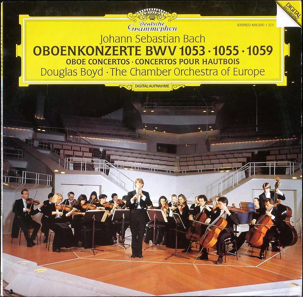 DGG 429 225 Bach Concertos Hautbois BWV 1053 & 1055 & 1059 DGG Digital Aufnahme