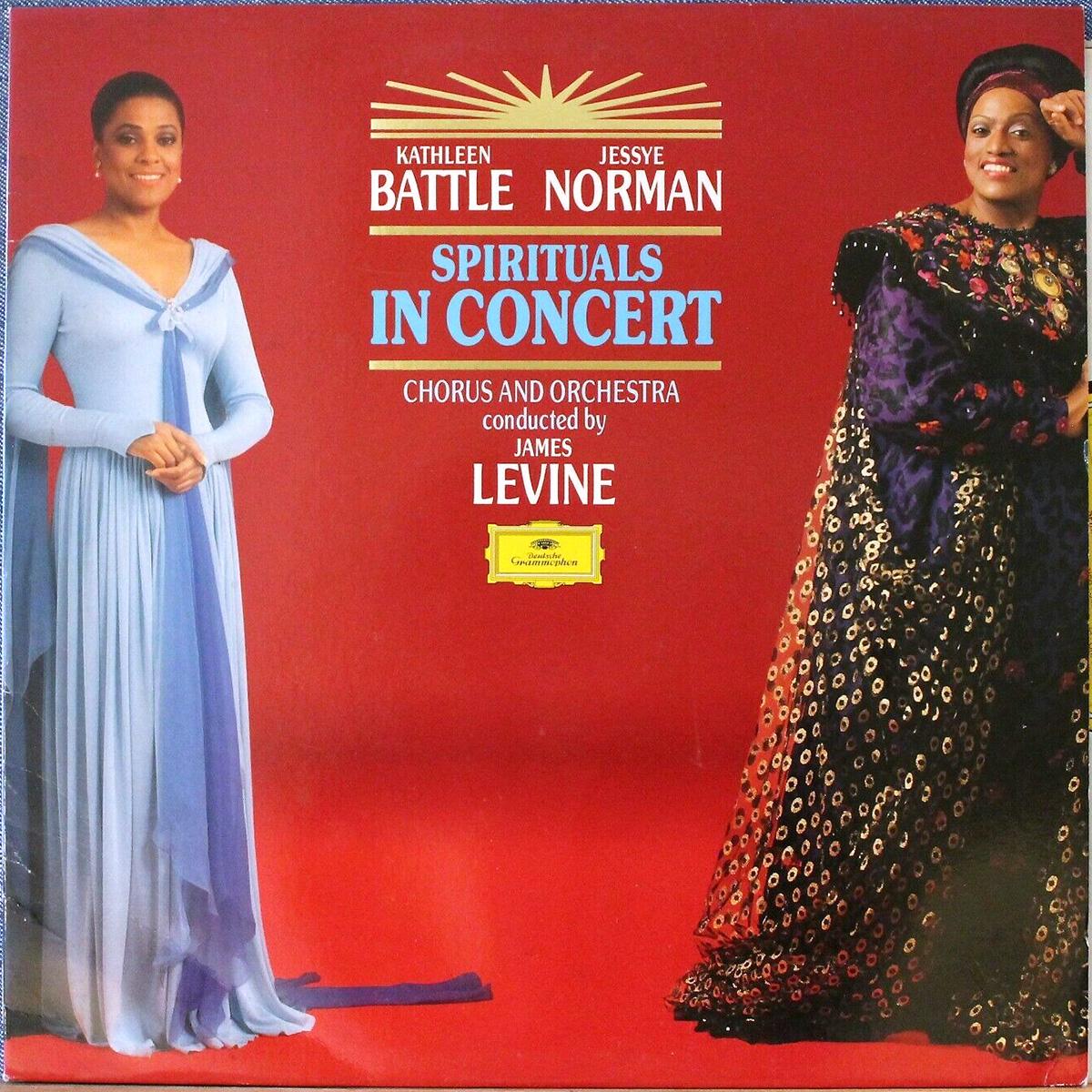 DGG 429 798 Spirituals In Concert Kathleen Battle Jessye Norman Levine DGG Digital Aufnahme