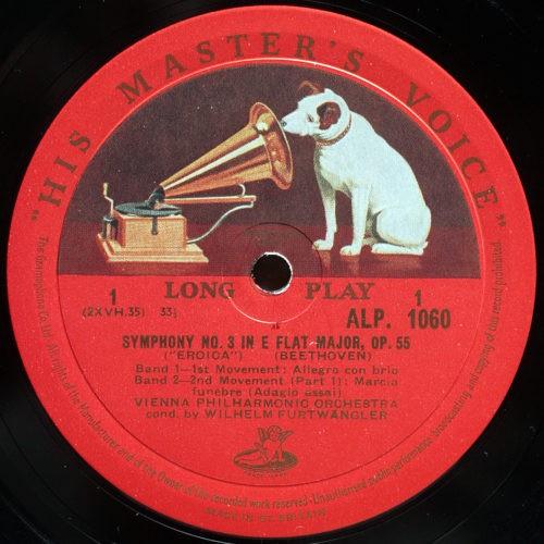 Beethoven Symphonie 3 Furtwangler ALP 1060