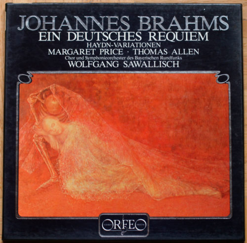 Brahms Ein deutsches Requiem Price Allen Sawallisch