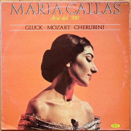 Callas Arie del 700 Gluck Mozart Cherubini Bernstein