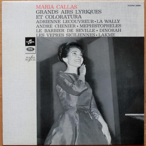 Callas Grands Airs Lyriques Et Coloratura Serafin