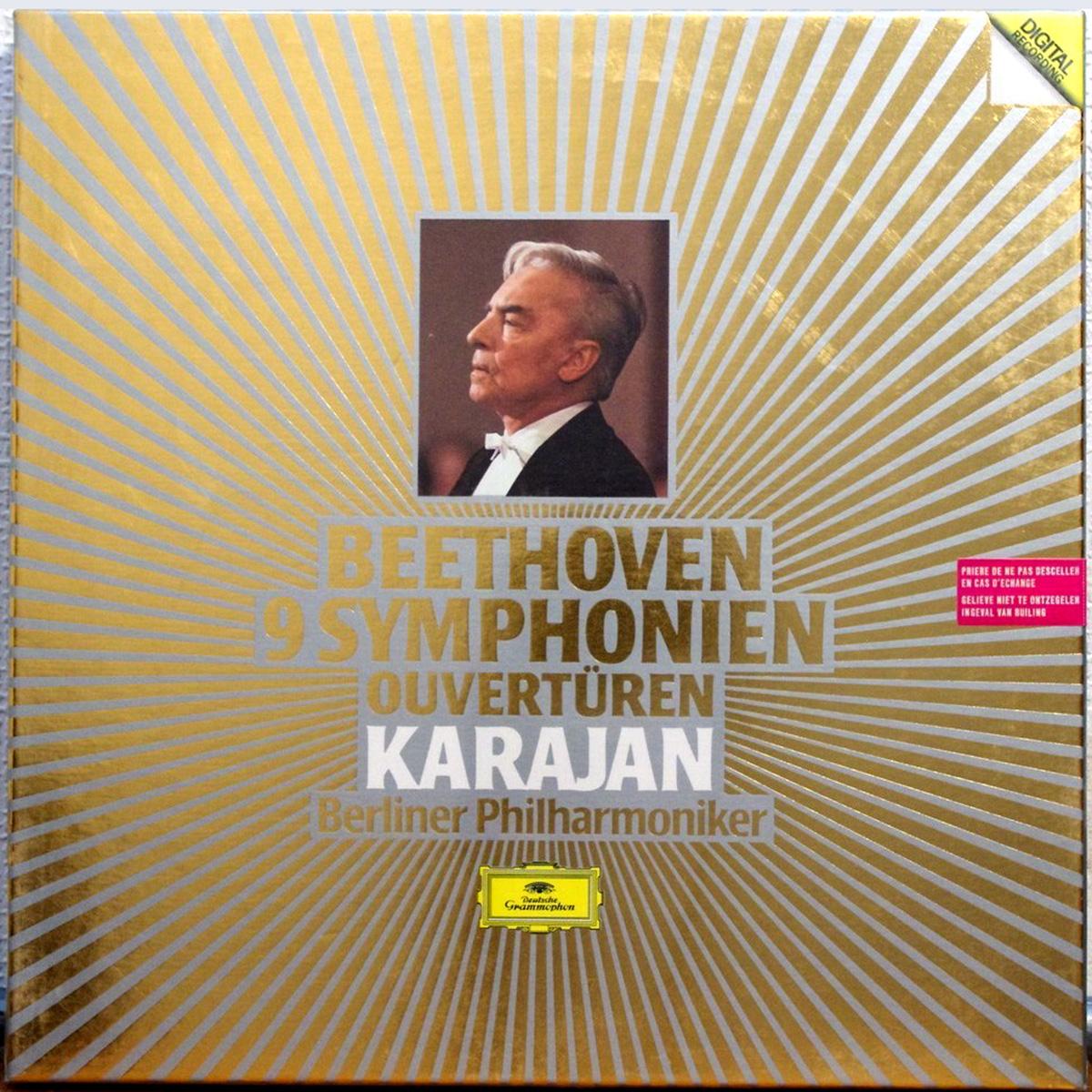 DGG 415066 Beethoven Integrale Symphonies Karajan