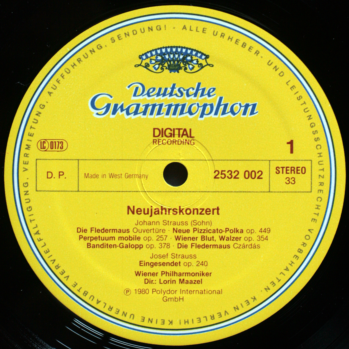 DGG | Deutsche Grammophon | Records | LP | Vinyl | Label Guide | Références
