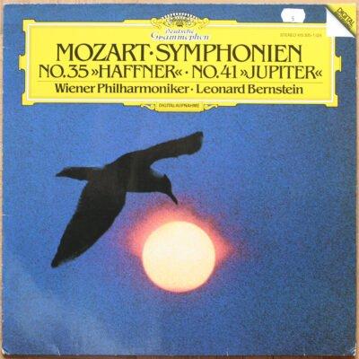 DGG Mozart Symphonie 35 41 Bernstein DGG Digital Aufnahme