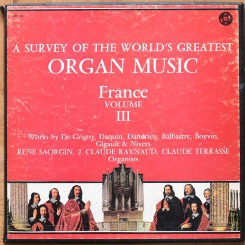 De Grigny Daquin Boyvin Gigault Nivers Organ Music France Vol 2