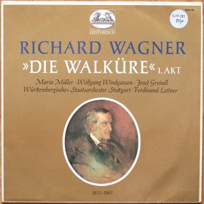 Wagner Walkyrie Acte 1 Windgassen Leitner