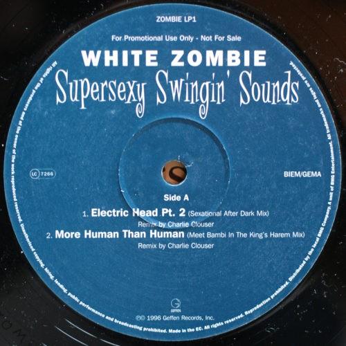 White Zombie Supersexy Swingin' Sounds Promo Album