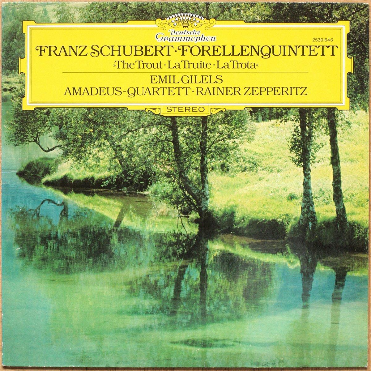DGG Schubert Forellenquintett A-dur Quintette