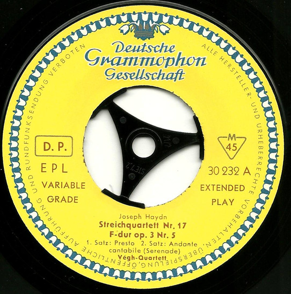 DGG | Deutsche Grammophon | Records | LP | Vinyl | Label Guide | 45 RPM