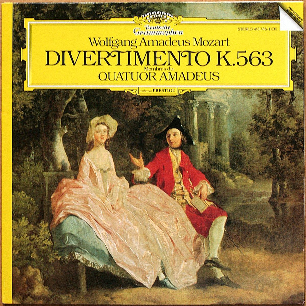 DGG 413 786 Mozart Divertimento KV 563 Digital Aufnahme