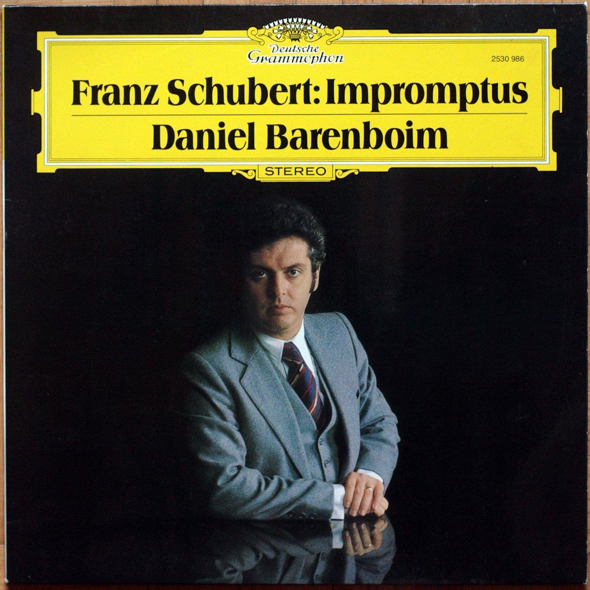 Schubert Impromptus Op. 90 - D 899 & Op. 142 - D 935 DGG 2530 986 Daniel Barenboim
