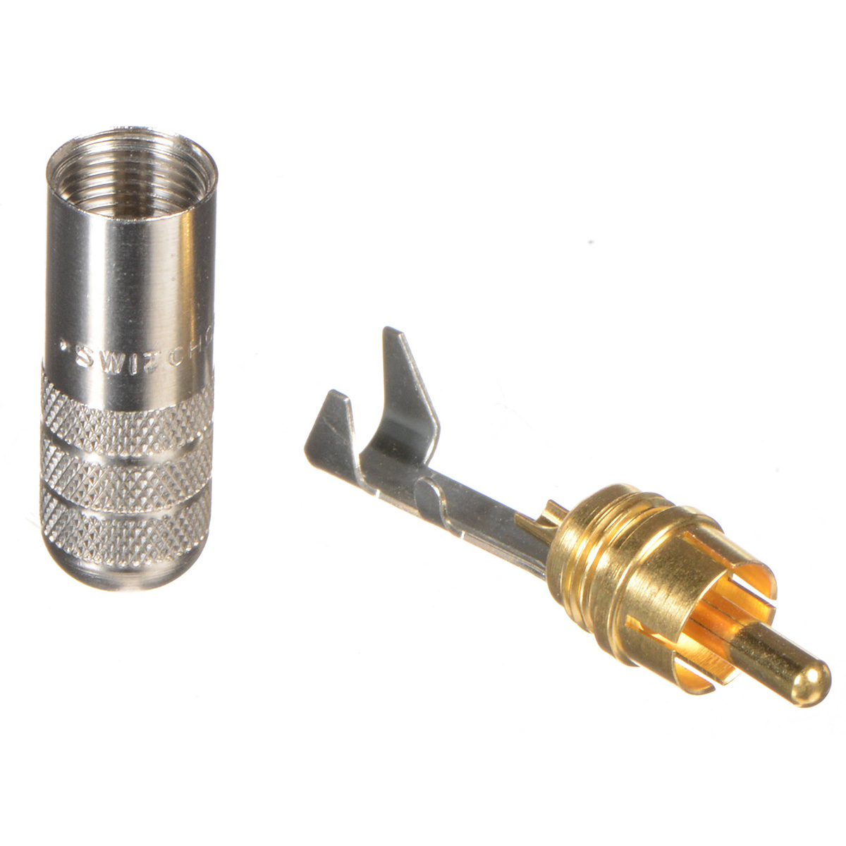 Switchcraft 3502A RCA straight plug Gold-plated