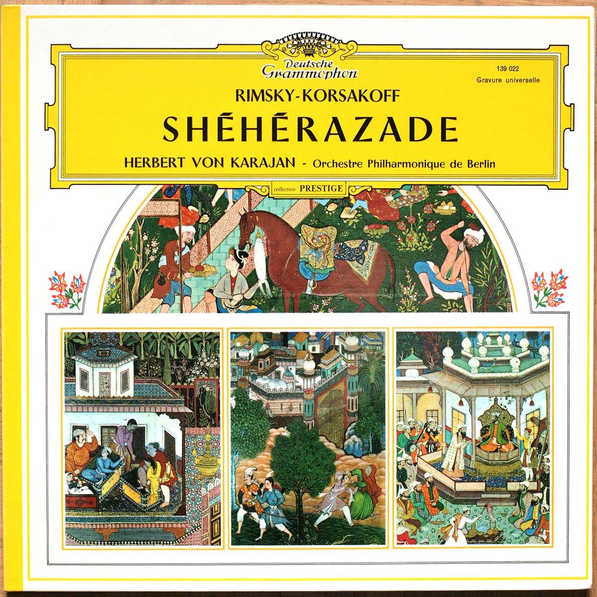 Rimsky-Korsakoff • Sheherazade • DGG 139 022 • Michel Schwalbé • Berliner Philharmoniker • Herbert von Karajan